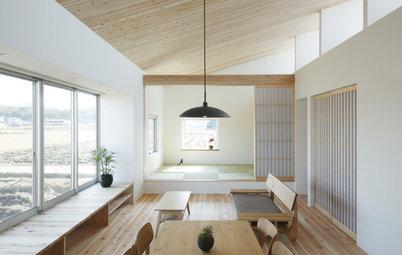 Wände aus Papier: Japanische Shoji für moderne Wohnräume
