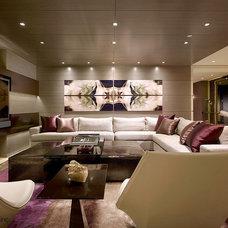 Modern Living Room by Jonathon B. Myers, Inc.