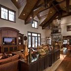 River Bend Ranch Rustic Kitchen Salt Lake City By