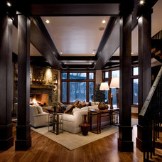 traditional living room by Phillips Development