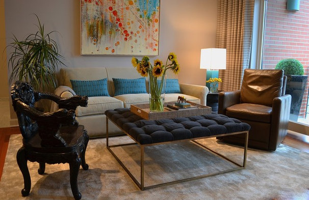 Eclectic Living Room by The Somogyi Group