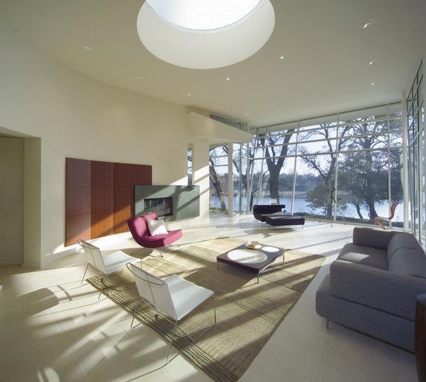 Modern Living Room by Mark Dziewulski Architect