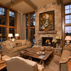 Traditional Living Room by Markel Design Group
