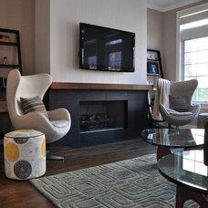 Modern Living Room by Habitar Design