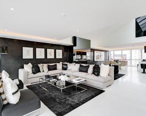 Contemporary Living Room Idea In London