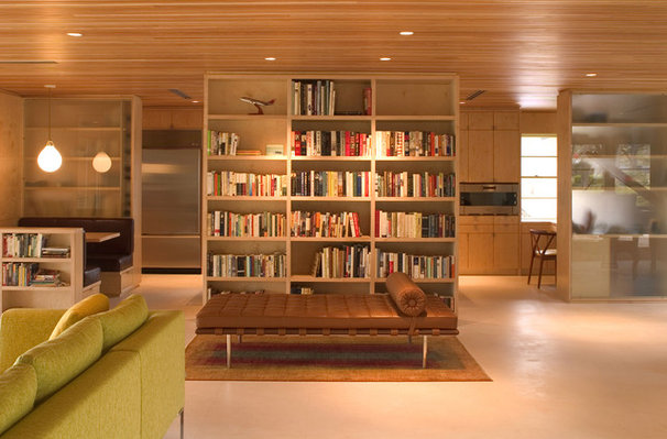 Modern Living Room by Tom Hurt Architecture