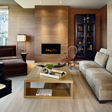 Contemporary Living Room by Nancy Sanford, Inc.