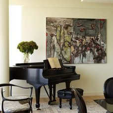 Contemporary Living Room by Incorporated