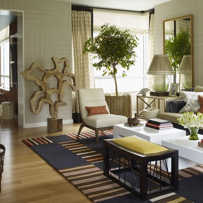 Living Room Jungle Design Ideas, Pictures, Remodel, and Decor