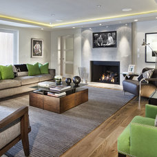 Contemporary Living Room by Lanthia Hogg Designs