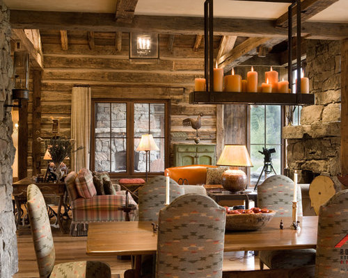 Rustic Rocky Mountains Home Houzz