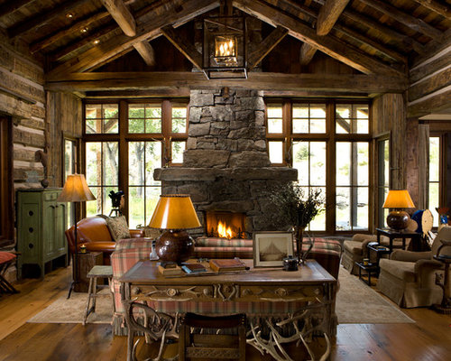 Rustic Rocky Mountains Home Home Design Ideas Pictures
