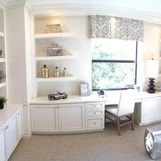 Contemporary Living Room by Custom Closets & More...