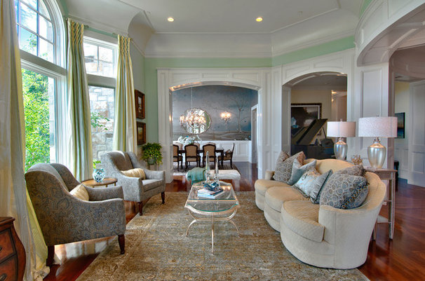 Traditional Living Room by Upland Development, Inc.