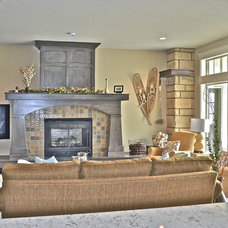 Traditional Living Room Rivervine Design in Eagle, Idaho