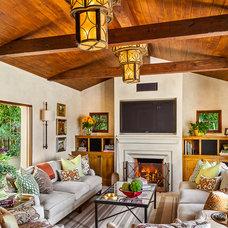 Mediterranean Living Room by Josh Blumer :: AB design studio, inc.