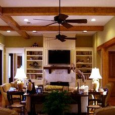 Traditional Living Room by RJ Elder Design