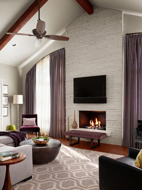 Transitional Living Room Design Ideas Remodels Photos