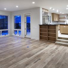 Contemporary Living Room by Shoberg Custom Homes