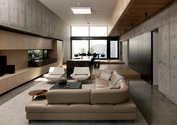Living Room by Robertson Design