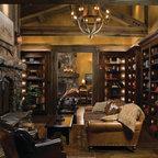 Spanish Oaks Hacienda Rustic Living Room Austin By Jauregui Architecture Interiors