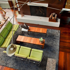 Eclectic Living Room by Fine Focus Photography