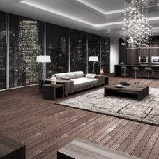 Modern Living Room by Uribe Studio Inc.