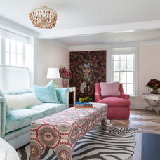 Beach Style Living Room by Reiko Feng Shui Design