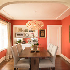 Craftsman Living Room by Laura Martin Bovard