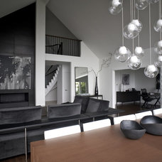 Modern Living Room by Gaile Guevara