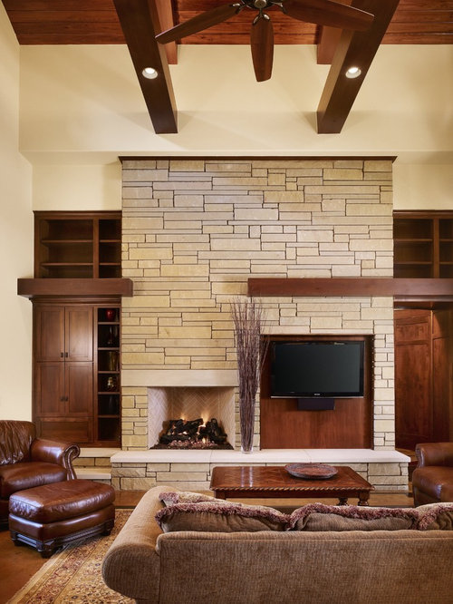 SaveEmail - Best Craftsman Living Room Design Ideas & Remodel Pictures Houzz