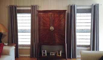 Roman Shades and Grommet Panels by Budget Blinds of Enfield