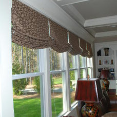 Transitional Roman Shades by BlindPros