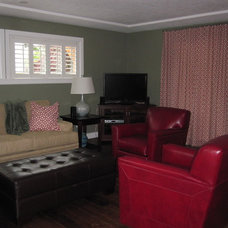 Traditional Living Room by Denise Judge, a Smith & Noble In Home Designer