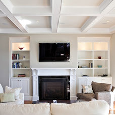Traditional Living Room by Artistic Design and Construction, Inc