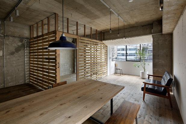 アジアン リビング・居間 by 蘆田 暢人|Ashida Architect & Associates