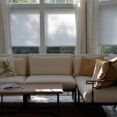 Modern Living Room by Interior Edge