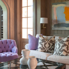 Eclectic Living Room by oomph