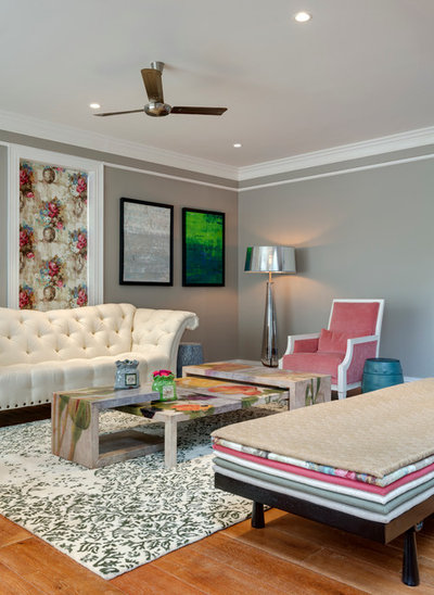 Coastal Living Room by Fadd Studio