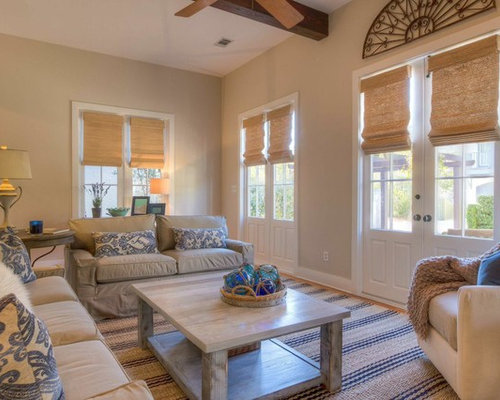 Beach Style New Orleans Living Room Design Ideas Remodels Photos Houzz