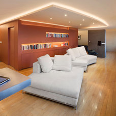 Contemporary Living Room by Soluri Architecture