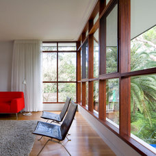 Contemporary Living Room by Grennan Architecture