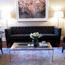 Contemporary Living Room by Rococo Green Australia
