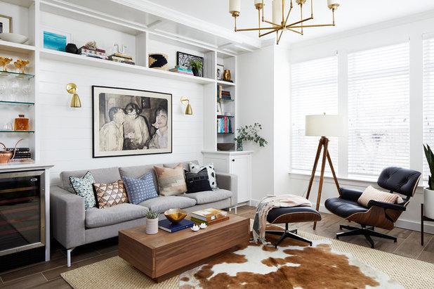 Contemporary Living Room by Studio Miel