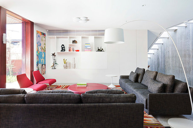 Contemporary Living Room by bg architecture