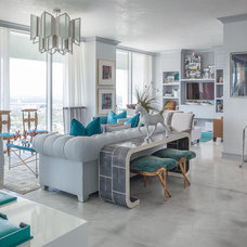 Eclectic Living Room by A. Keith Powell Interior