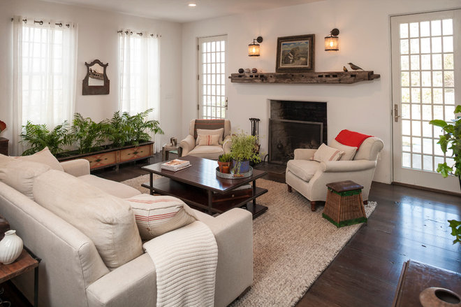 Traditional Living Room by Beinfield Architecture PC
