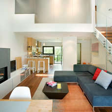 Contemporary Living Room by S2 Architects