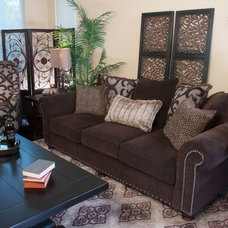 Traditional Living Room by Jerome's Furniture