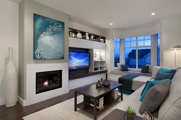 Contemporary Living Room by Portico Design Group